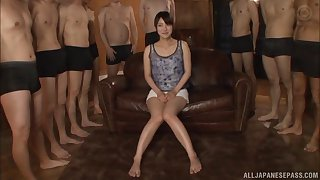 Hakii Haruka is a lucky chick who gets to play with boners