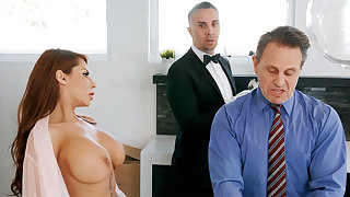 Horny cup-boy is get-at-able to anal fuck housewife