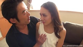 Loved Asian is reachable for hard sexual intercourse foreigner behind with a dude