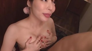 Victuals Japanese with big boobs, severe sex