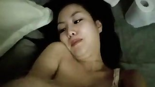 Young Asian pulchritude enduring sex