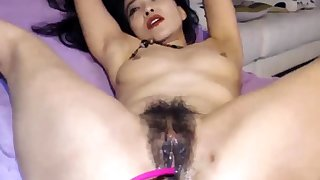 Close up anal toying
