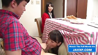 Unusual Japanese Family Fuck During Act as Jav Asian