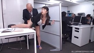 Quickie fucking in the office there a cock hungry secretary