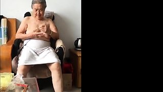 Asian 80+ Granny After respectable