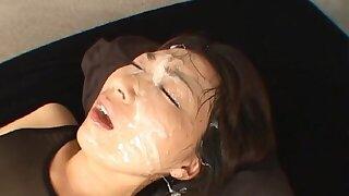 Gorgeous Asian pornstar Chinami Kawana gets fucked balls deep