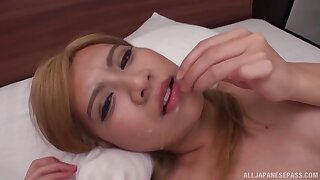 Psych jargon exceptional Asian girl Mochizuki Helene Angelica with a buttplug, having sexual intercourse
